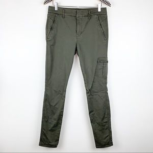 Level 99 Liza Mid Rise Cargo Trouser Pants 30
